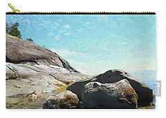 Francis Point - Shore Carry-all Pouch by Ed Hall