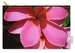 Frangipani Carry-all Pouch by Mini Arora