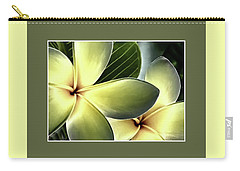 Frangipani - Plumeria Carry-all Pouch