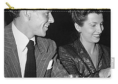 Frank Sinatra And Nancy Carry-all Pouch by Underwood Archives