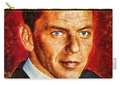 Frank Sinatra Carry-all Pouch by Esoterica Art Agency