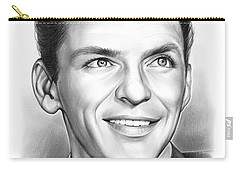 Frank Sinatra Carry-all Pouch by Greg Joens
