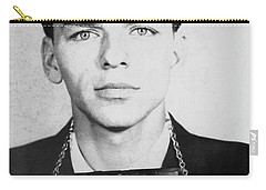 Frank Sinatra Mugshot Carry-all Pouch by Jon Neidert