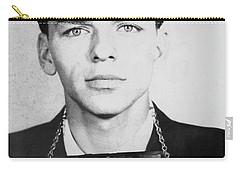 Frank Sinatra Mugshot Carry-all Pouch by Jon Neidert