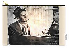 Frank Sinatra - Vintage Painting Carry-all Pouch