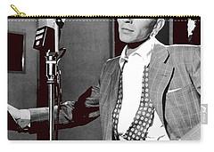 Frank Sinatra William Gottlieb Photo Liederkranz Hall New York City 1947-2015 Carry-all Pouch by David Lee Guss