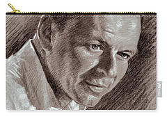 Frank Sinatra  Carry-all Pouch by Ylli Haruni