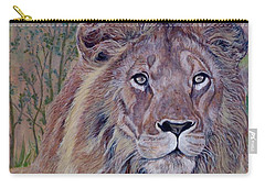 Carry-all Pouch featuring the painting Frank by Tom Roderick