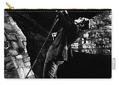 Frankensteins Monster Chained The Castle Played By Boris Karloff Carry-all Pouch
