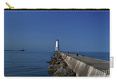 Frankfort Lighthouse In Michigan Carry-all Pouch