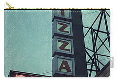 Carry-all Pouch featuring the photograph Frank's Pizza Palace by Joel Witmeyer