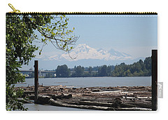 Fraser River And Mount Baker Carry-all Pouch