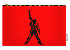 Carry-all Pouch featuring the digital art Freddy Krueger by Christopher Meade