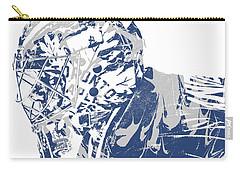 Frederik Andersen Toronto Maple Leafs Pixel Art 3 Carry-all Pouch