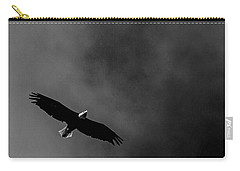 Carry-all Pouch featuring the photograph Free Flight by Ken Frischkorn