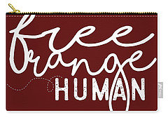 Free Range Human Carry-all Pouch