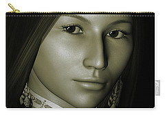 Carry-all Pouch featuring the digital art Free Spirit 2 by Shadowlea Is