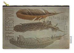 Free Spirit Carry-all Pouch by Toni Hopper