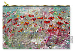 Free Wild Poppies Carry-all Pouch