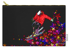 Carry-all Pouch featuring the digital art Freedom 2016 by Kathryn Strick