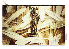 Freedom And Independence Carry-all Pouch by Jorgo Photography - Wall Art Gallery