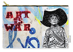 Carry-all Pouch featuring the photograph Freedom Fighter by Art Block Collections