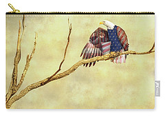 Carry-all Pouch featuring the photograph Freedom by James BO Insogna