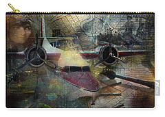 Freedom Plane Three Carry-all Pouch by Evie Carrier