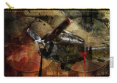 Freedom Plane Two Carry-all Pouch by Evie Carrier