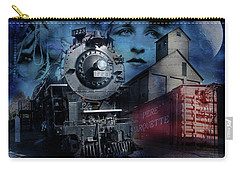 Freedom Train Three Carry-all Pouch by Evie Carrier