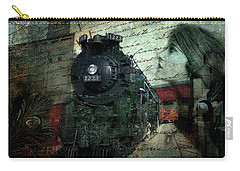 Freedom Train Two Carry-all Pouch by Evie Carrier