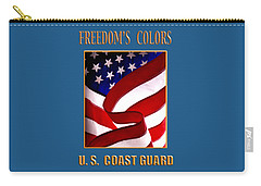 Freedom's Colors Uscg Carry-all Pouch