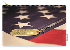 Carry-all Pouch featuring the photograph Freedom's Price by Laddie Halupa