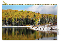 Freeman Lake In Northwest Colorado In The Fall Carry-all Pouch