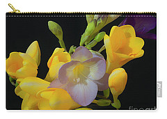 Freesias Softened 9 Carry-all Pouch