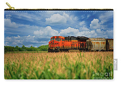 Freight Train Carry-all Pouch by Kelly Wade
