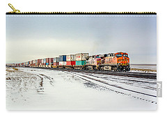 Freight Train Carry-all Pouch by Todd Klassy