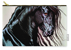 Freisian Fredrik Carry-all Pouch by Cheryl Poland