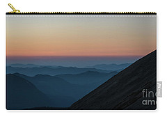 Fremont Lookout Sunset Layers Pano Carry-all Pouch by Mike Reid