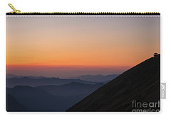 Fremont Lookout Sunset Layers Vision Carry-all Pouch by Mike Reid