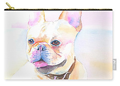 French Bulldog Watercolor Carry-all Pouch