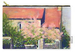 French Cottage Carry-all Pouch by Rebecca Matthews