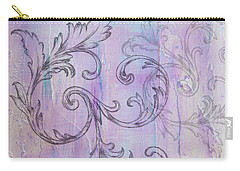 French Country Scroll Carry-all Pouch