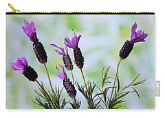 French Lavender Carry-all Pouch by Terence Davis