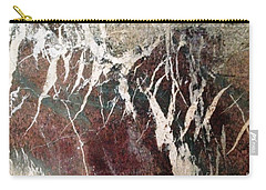 Carry-all Pouch featuring the photograph French Marble by Therese Alcorn