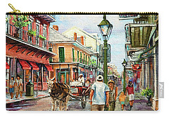 French Quarter Antiques Carry-all Pouch