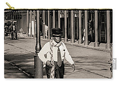 Carry-all Pouch featuring the photograph French Quarter As It Once Was by KG Thienemann