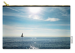 Carry-all Pouch featuring the photograph French Riviera Waters by Katie Wing Vigil