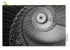 French Spiral Staircase 1 Carry-all Pouch by Lexa Harpell
