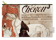French Veterinary Clinic Carry-all Pouch